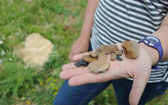 Tunceli'de 1 milyon yıl öncesine ait araç gereç parçaları bulundu